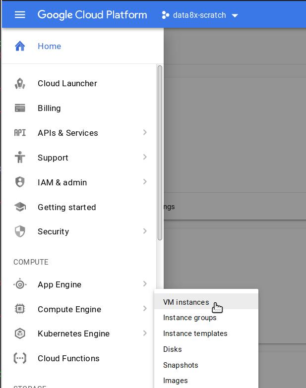 Installing on Google Cloud — The Littlest JupyterHub v0 1 documentation